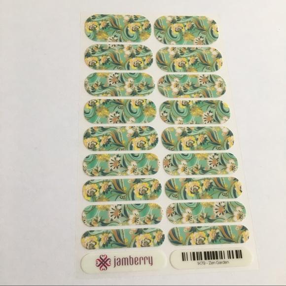 Jamberry Other - New Jamberry Nail Wraps Zen Garden Full Sheet